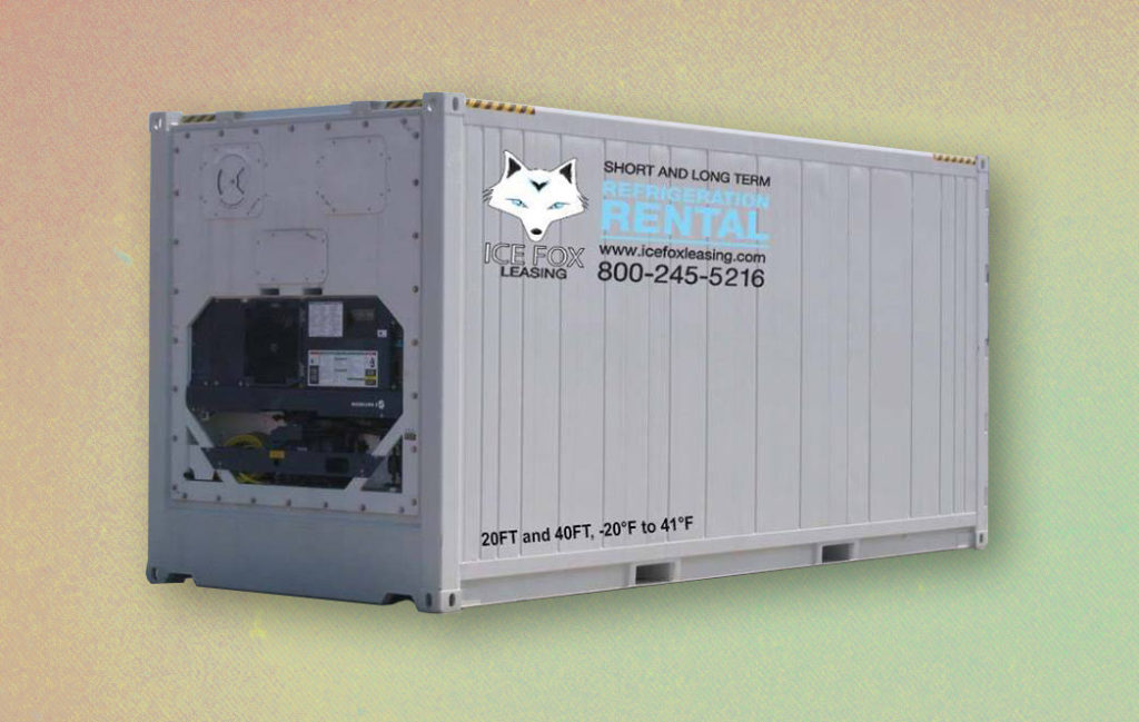 temporary refrigeration for rent icefox leasing